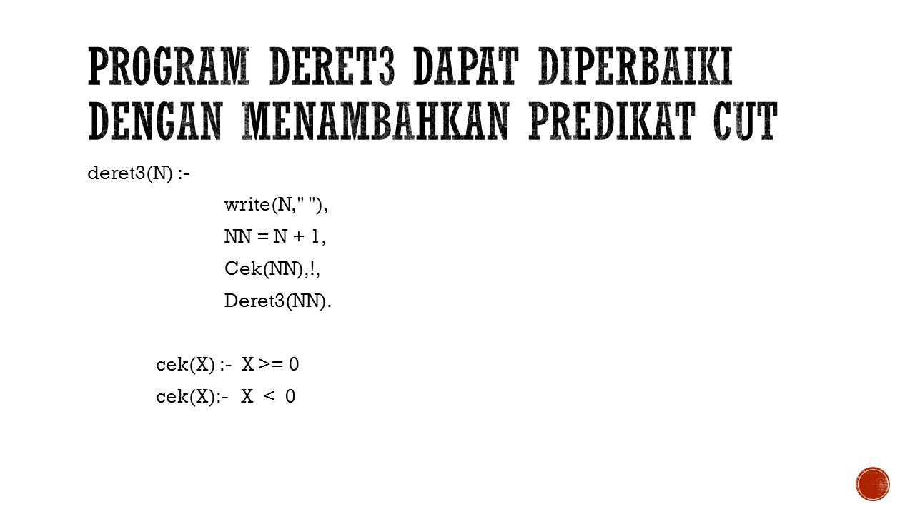 deret3(N) :- write(N,