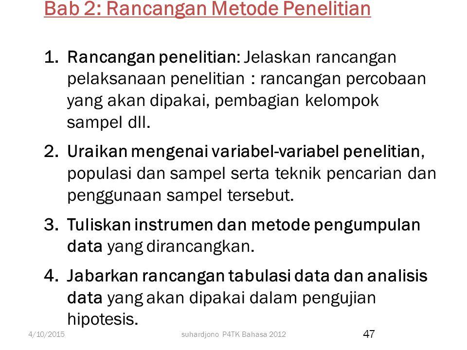 suhardjono P4TK Bahasa 2012 Argumentasi ilmiah dilakukan melalui kajian pustaka. 1.Kaji teori-teori yang berhubungan dengan konsep-konsep yang diperma
