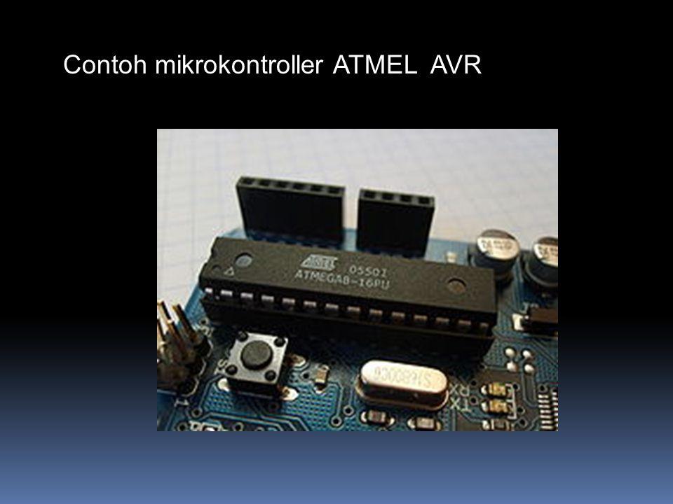 Contoh mikrokontroller ATMEL AVR