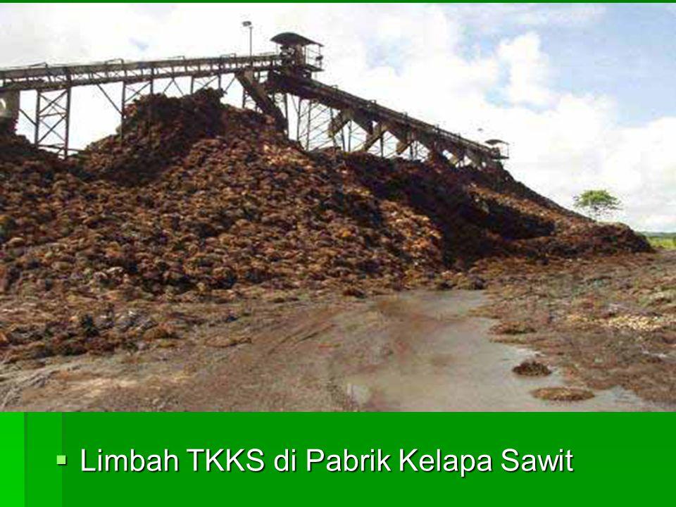  Limbah TKKS di Pabrik Kelapa Sawit