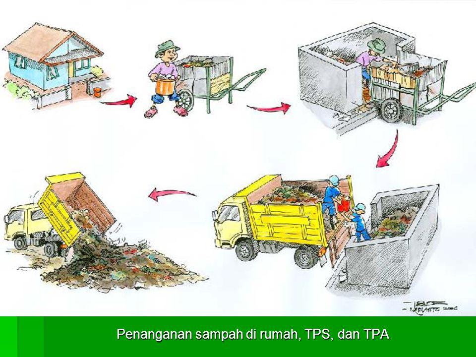Sampah organik untuk dibuat kompos
