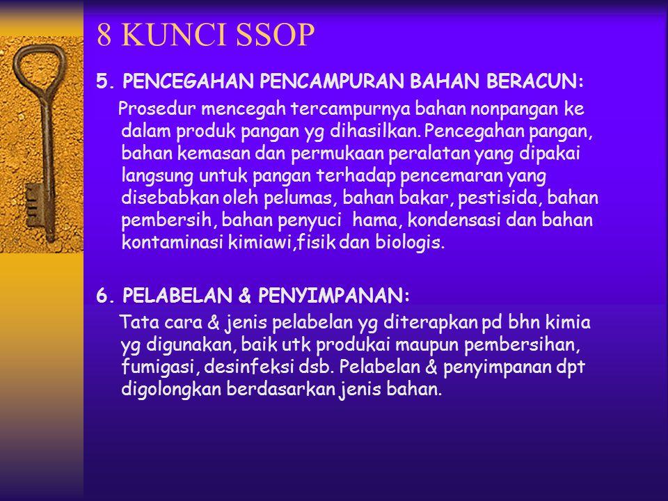 8 KUNCI SSOP 5.
