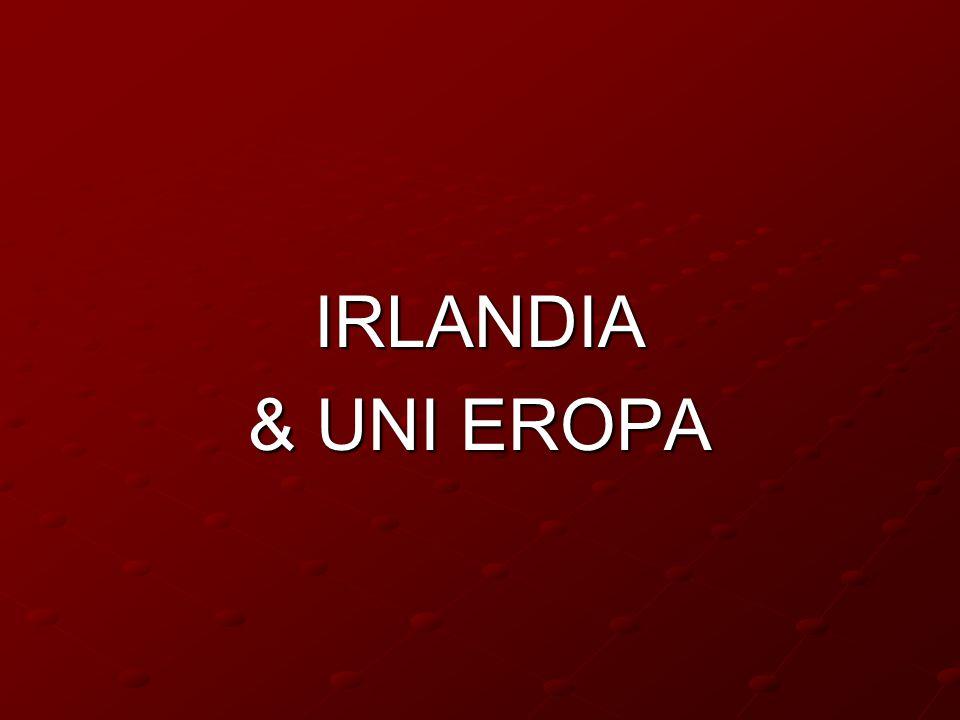 IRLANDIA & UNI EROPA