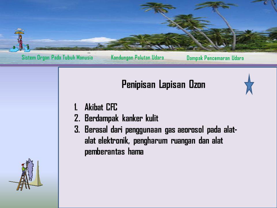 Sistem Organ Pada Tubuh ManusiaKandungan Polutan Udara Dampak Pencemaran Udara The Process Acid Rain