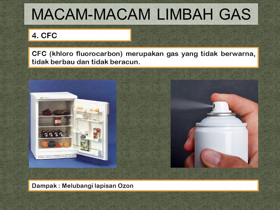 MACAM-MACAM LIMBAH GAS 4.