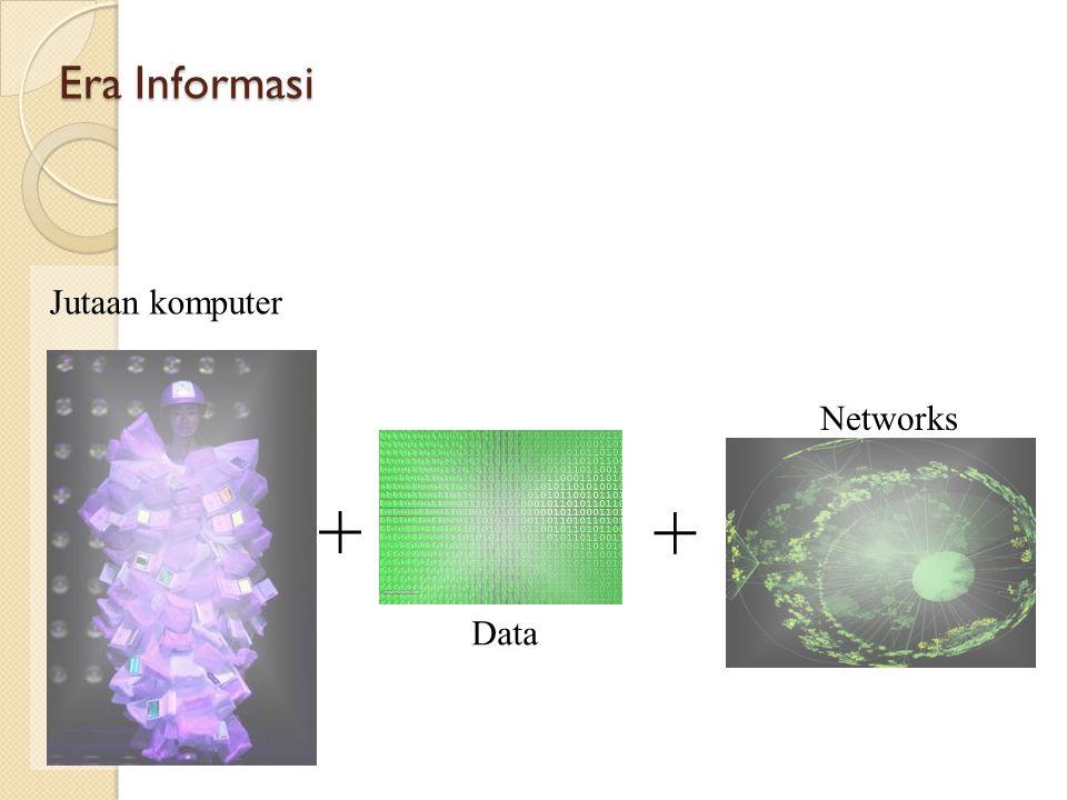 Era Informasi Jutaan komputer Data Networks + +