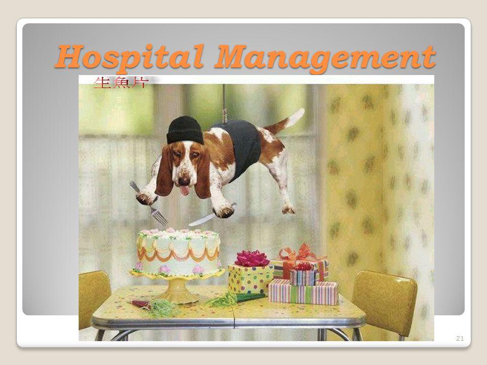 21 Hospital Management