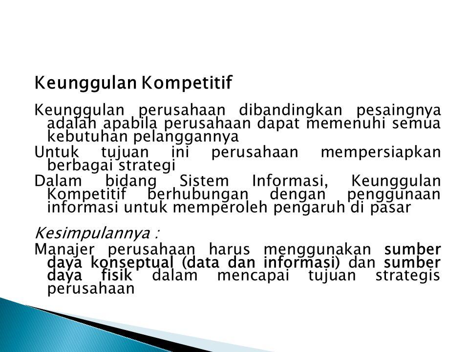 Pengelola Sumber Daya Informasi CIO (Chief Information Officer)  Istilah CIO memiliki pengertian lebih dari sekedar suatu gelar, istilah ini memiliki pengertian suatu peran yang seharusnya dilaksanakan oleh manajer jasa informasi tingkat puncak.