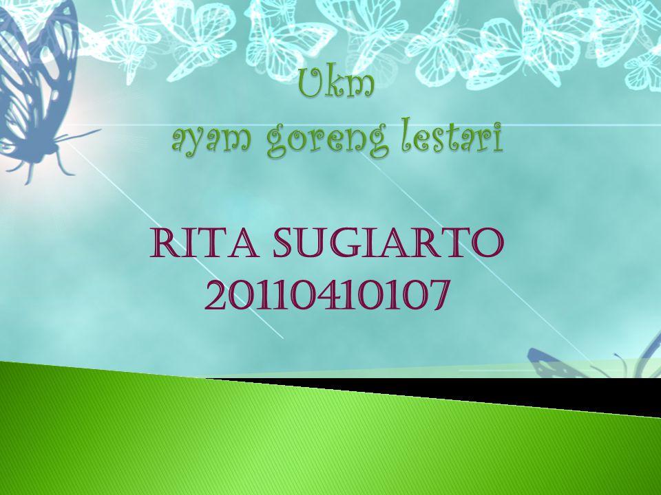 RITA SUGIARTO 20110410107