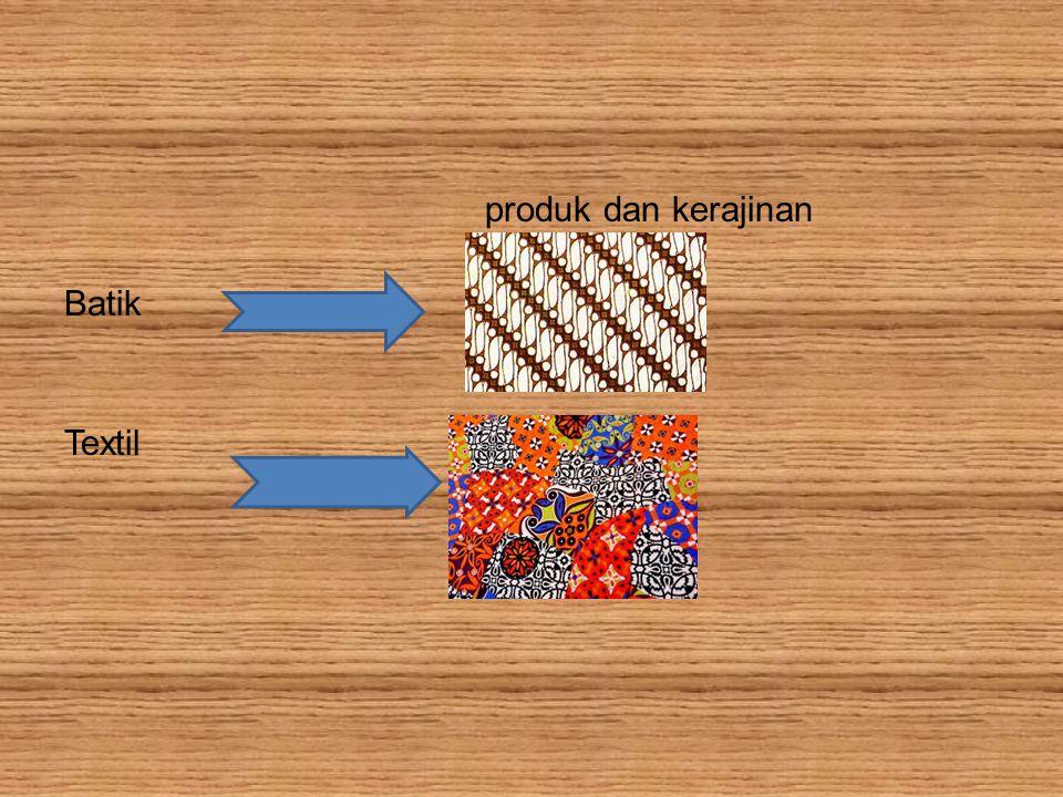 produk dan kerajinan Batik Textil