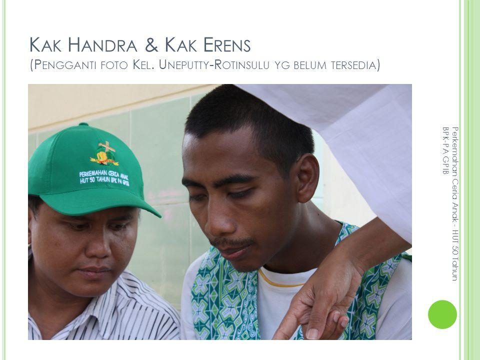 K AK H ANDRA & K AK E RENS (P ENGGANTI FOTO K EL.