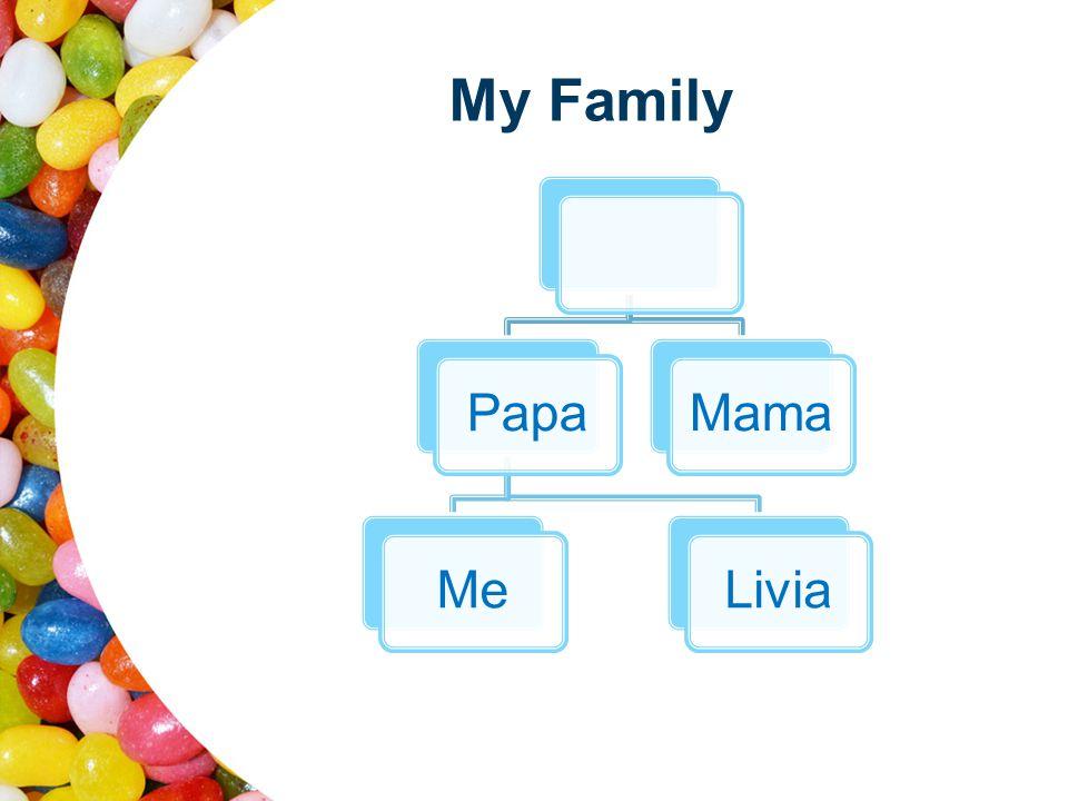 My Family PapaMeLiviaMama