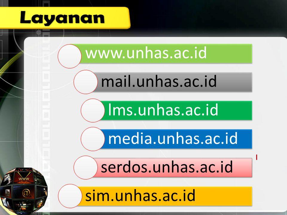 www.unhas.ac.id mail.unhas.ac.id lms.unhas.ac.id media.unhas.ac.i d serdos.unhas.ac.id sim.unhas.ac.id