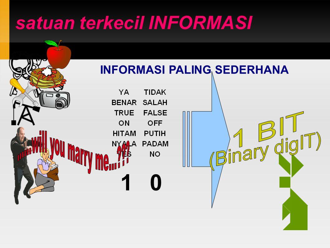 NILAI INFORMASI 10