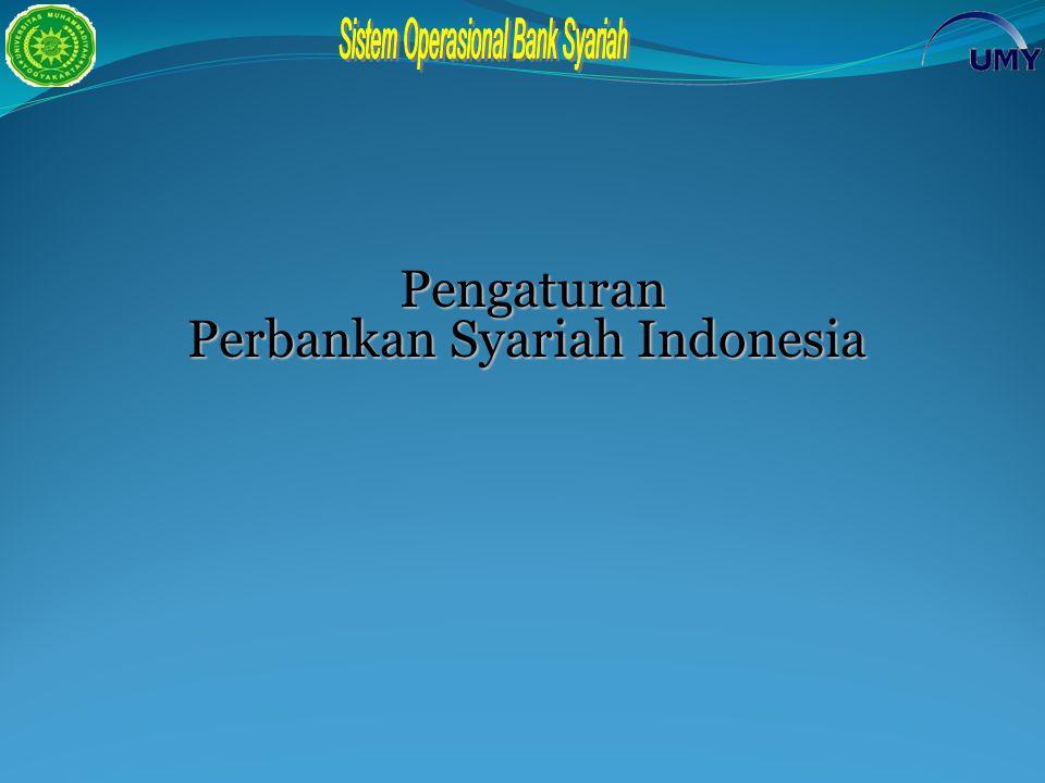 Pengaturan Pengaturan Perbankan Syariah Indonesia