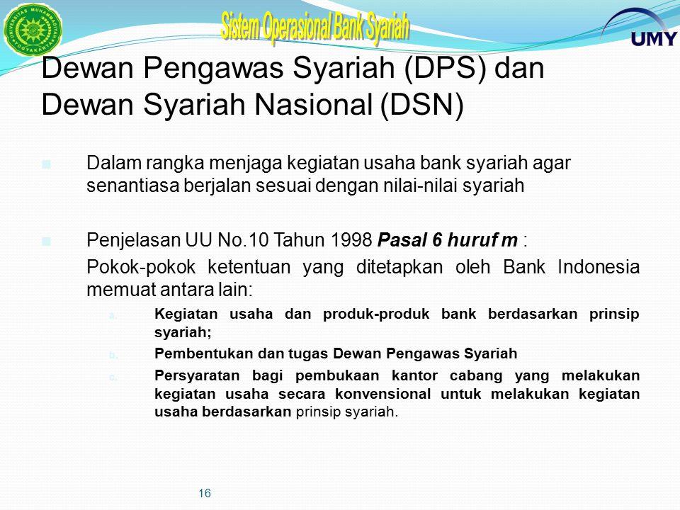 15 Contoh Bagan Organisasi Bank Umum Konvensional yang membuka Kantor Cabang Syariah RUPS / Rapat Anggota Dewan Komisaris Dewan Pengawas Syariah Dewan