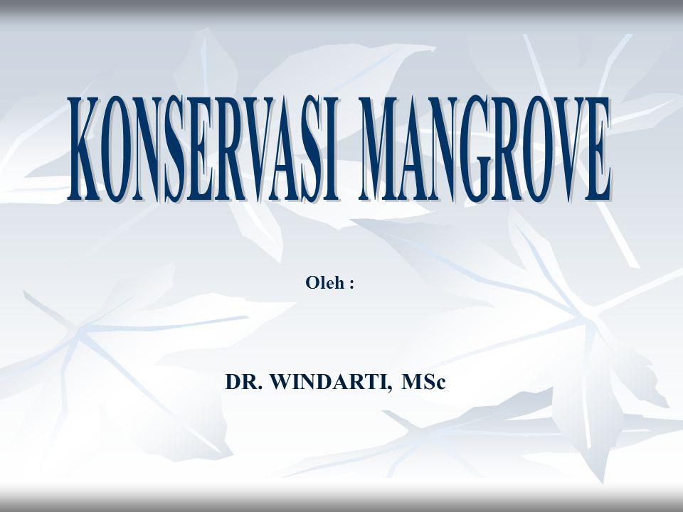 Oleh : DR. WINDARTI, MSc