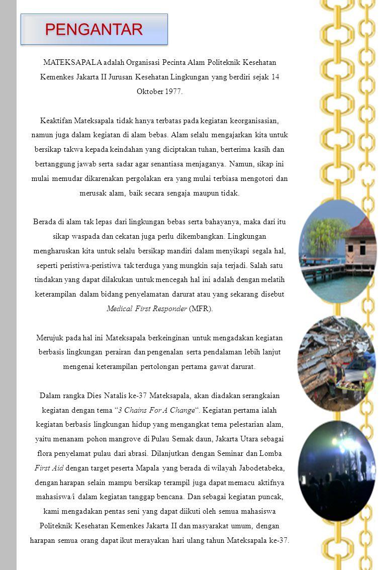 Lembar Pengesahan I Jakarta, 23 Juli 2014 Ketua BEM Jurusan Kesehatan Lingkungan Givan Dwi Riyan NPM : P2.31.33.0.12.14 Mengetahui, Sub.
