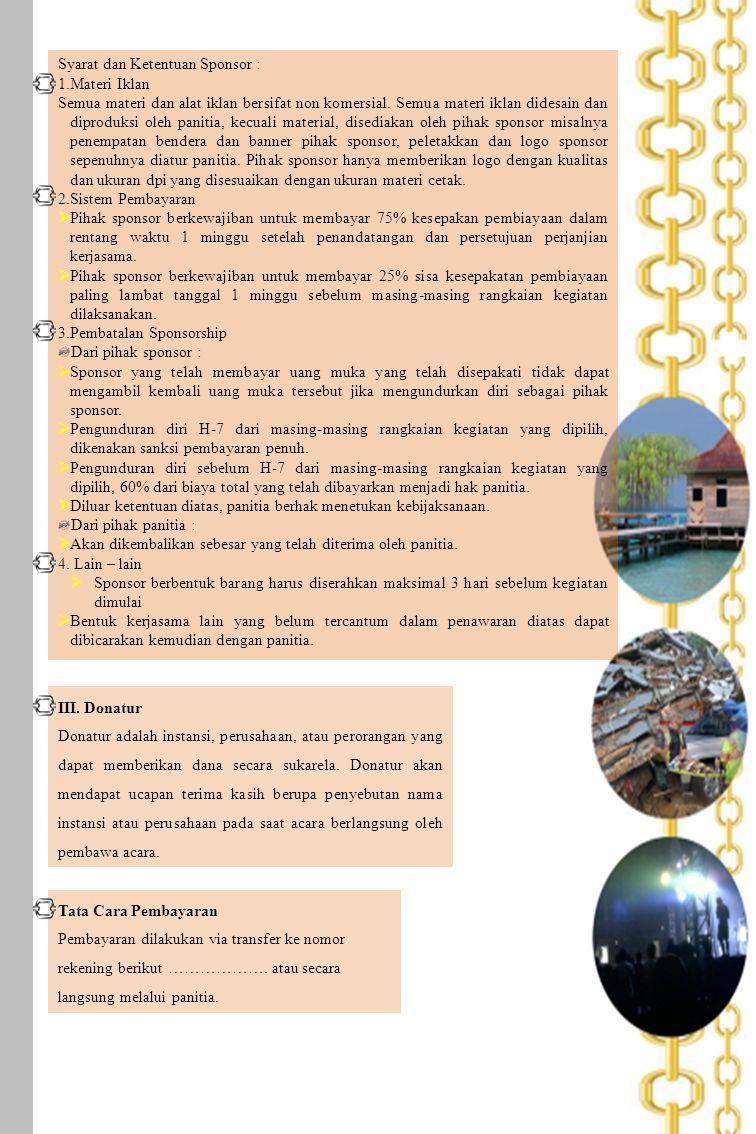 LOKASI KEGIATAN 1.Penanaman Mangrove, Pulau Semak Daun, Kepulauan Seribu, Jakarta Utara 2.
