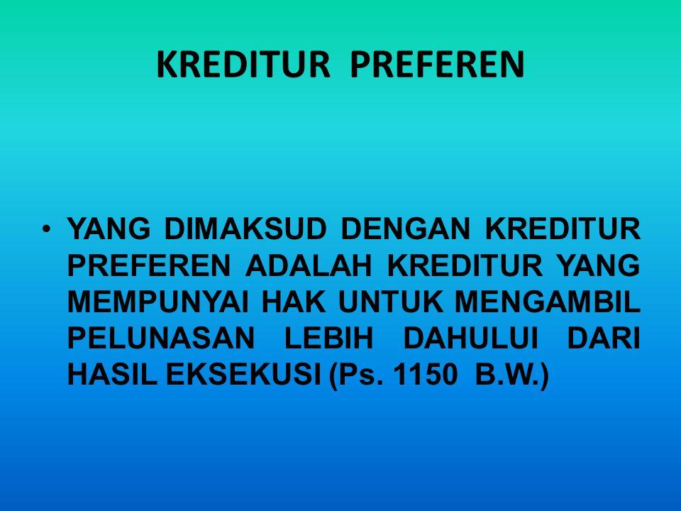 SEJARAH LEMBAGA HAK JAMINAN ATAS TANAH DI INDONESIA 1848 HYPOTHEEK Obyek : HAT-Barat (Eigendom, Erfpacht) 1908 CREDIETVERBAND Obyek: Tanah Hak Milik Adat 1960 HAK TANGGUNGAN Obyek: HM, HGU, HGB 1996 HAK TANGGUNGAN Obyek: HM,HGU,HGB,HP Rumah Susun dan HMSRS (vide UU No.