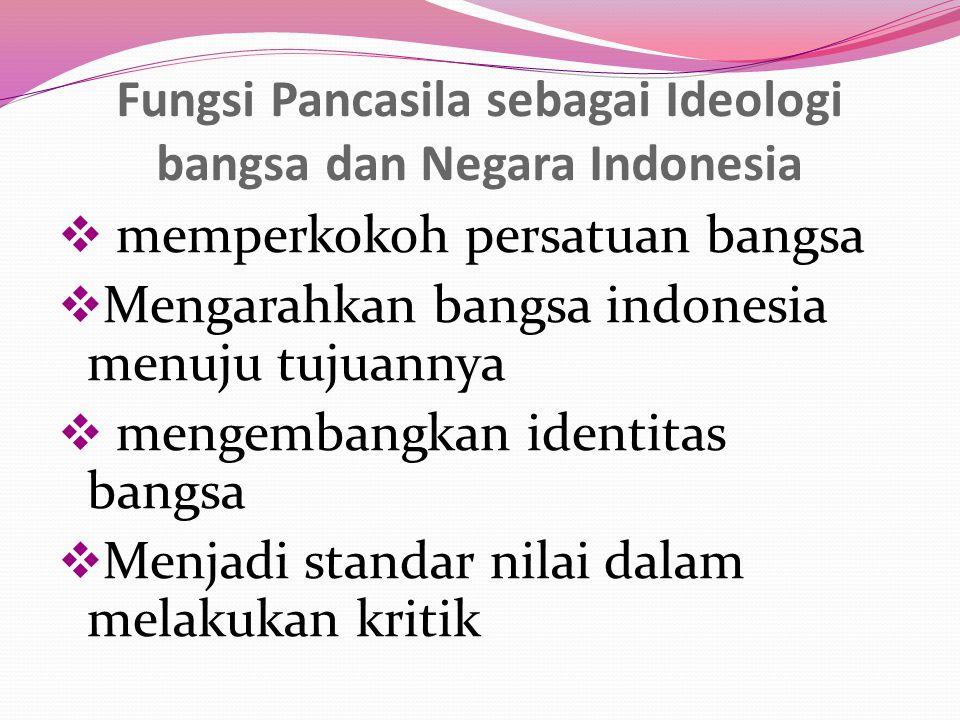 Pancasila sebagai Ideologi bangsa dan negara Indonesia itu sangat penting.Karena Ideologi merupakan alat yang paling ampuh untuk menciptakan negara Indonesia yang kokoh, bermartabat dan berbudaya tinggi.