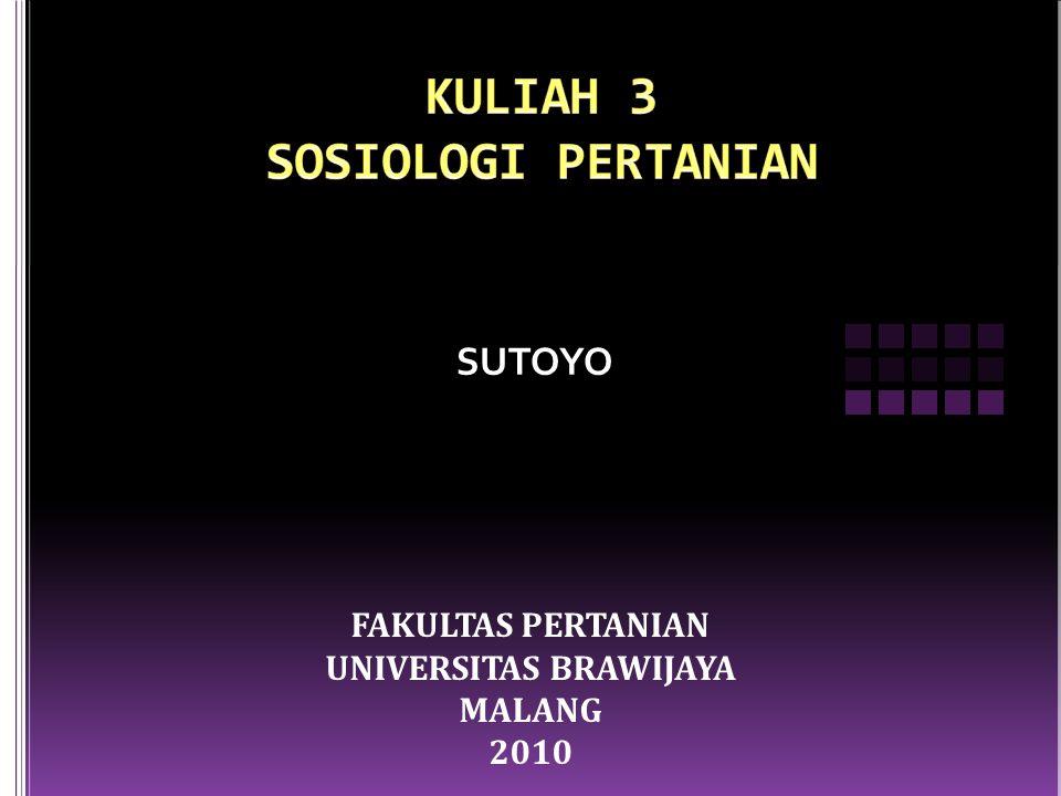 Agroekologi, Sistem Sosial dan Interaksi Antar Keduanya.