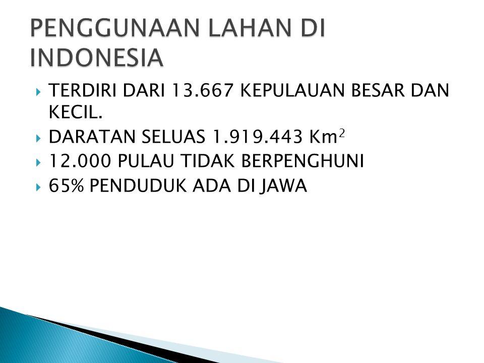  TERDIRI DARI 13.667 KEPULAUAN BESAR DAN KECIL.