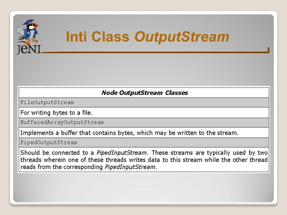 Class Filter OutputStream