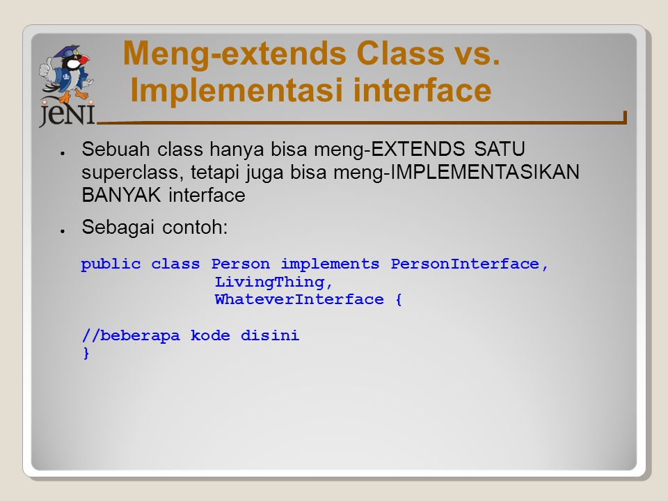 Meng-extends Class vs.