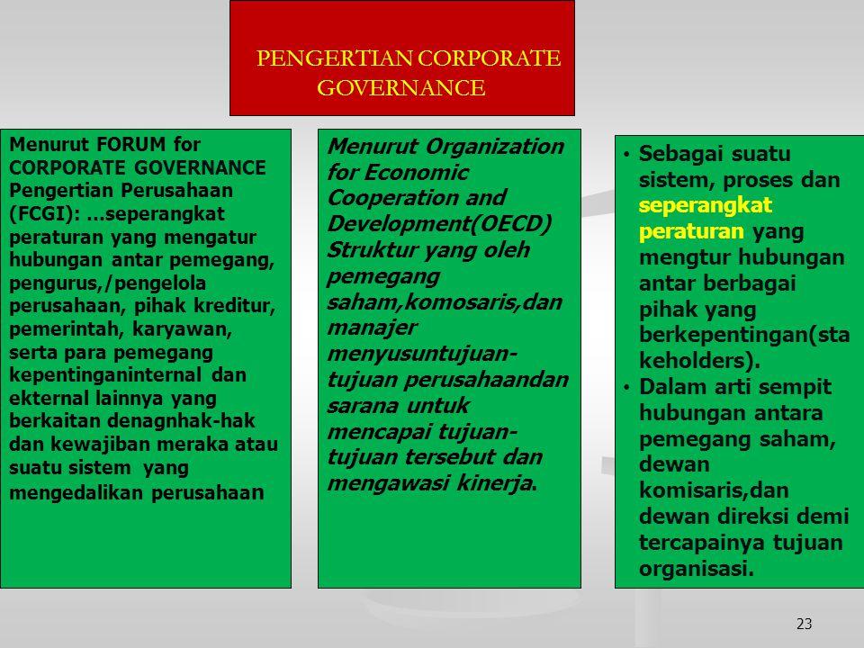 """Dalam pengelolaan perusahaan yang baik dikenal prinsip """"GCG""""( Good Corporate Governance), dengan memperhatikan prinsip- prinsip bisnis : prinsip fairn"""
