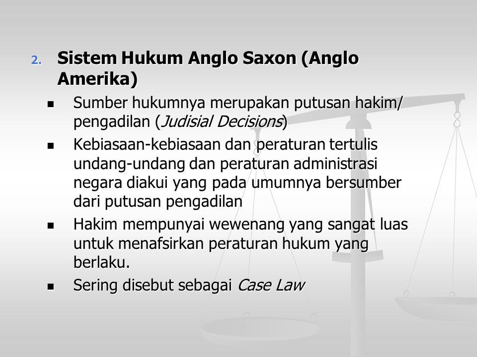 Macam-Macam Sistem Hukum Macam-Macam Sistem Hukum 1. Sistem Hukum Eropa Kontinental Menurut sistem Eropah Kontinental,hukum memperoleh kekuatan mengik