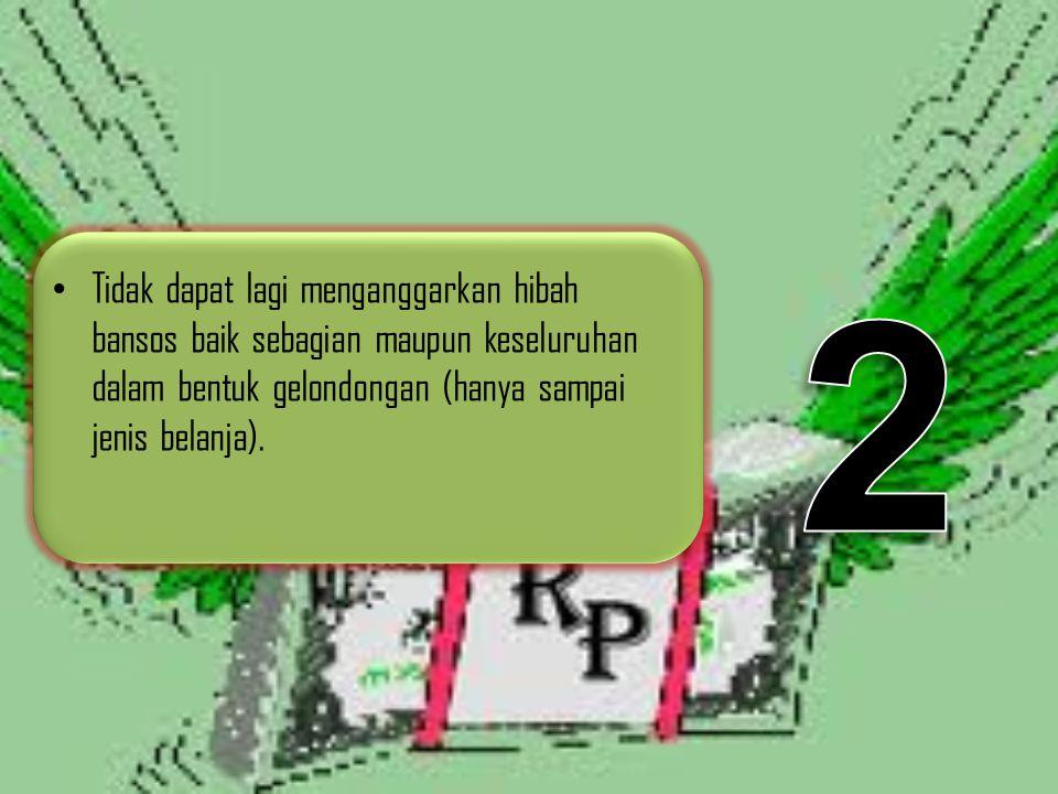 Surat Edaran 903/4127/SJ (Proses Penganggaran Pemberian Hibah dan Bantuan Sosial datam APBD TA 201) 1.Pemerintah Daerah dalam menganggarkan pemberian Hibah dan Bantuan Sosial dalam APBD TA 2012, pada prinsipnya tetap mempedomani Peraturan Menteri Dalam Negeri Nomor 32 Tahun 2011.