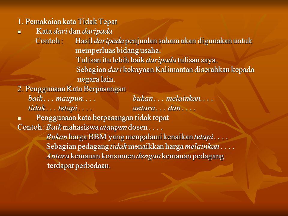 PEMAKAIAN HURUF KAPITAL 1.