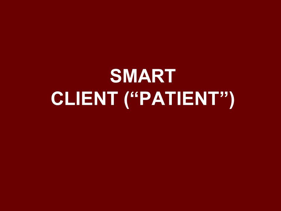 """SMART CLIENT (""""PATIENT"""")"""