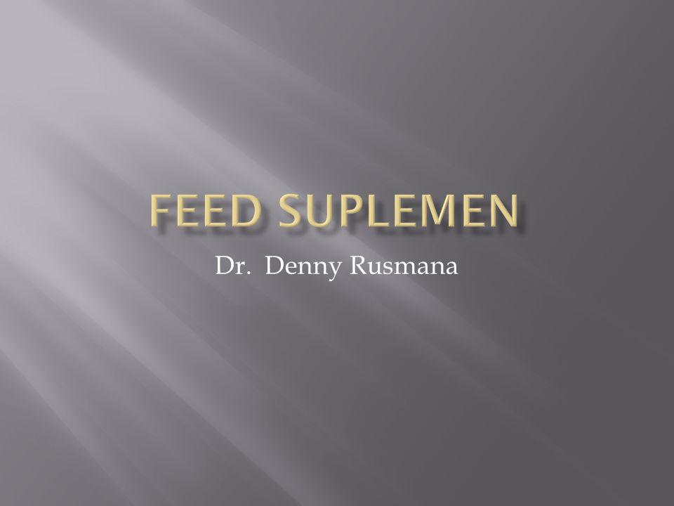Dr. Denny Rusmana