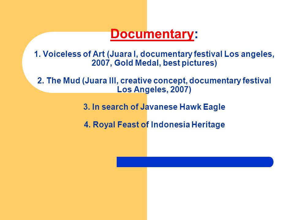 Documentary: 1.