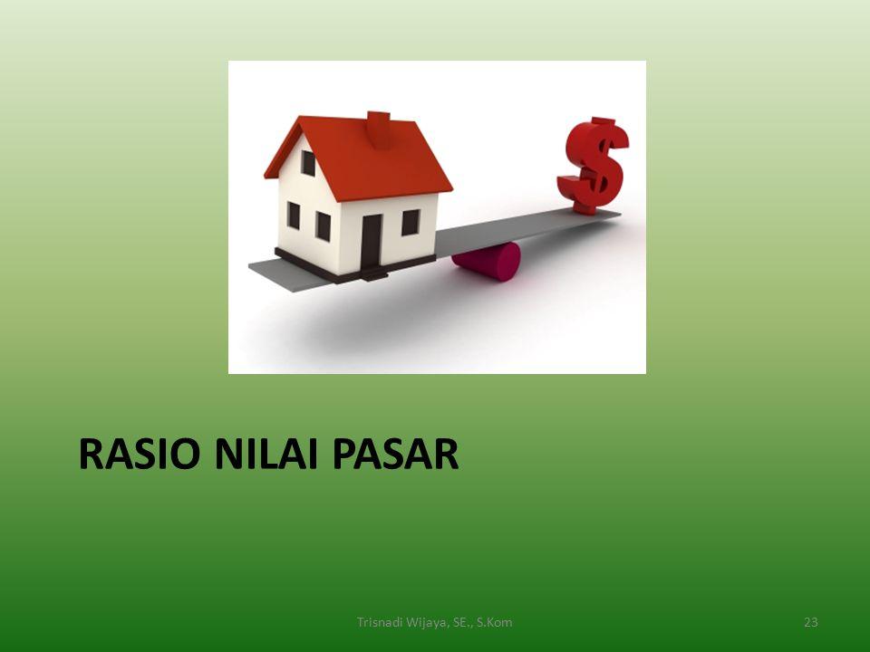 RASIO NILAI PASAR 23Trisnadi Wijaya, SE., S.Kom