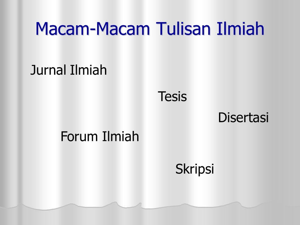 Bahasa Indonesia Ilmiah Bahasa Indonesia dalam tulisan ilmiah mempunyai fungsi yang sangat penting Bahasa yang digunakan dalam tulisan ilmiah adalah bahasa Indonesia ilmiah.
