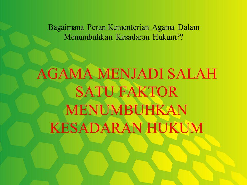 FAKTOR-FAKTOR YANG MEMPENGARUHI PENEGAKAN HUKUM YANG NEGATIF 1.F AKTOR YANG ADA DI DALAM SISTEM HUKUM (HUKUM,PENEGAK HUKUM, SARANA & PRASARANA) 2.F AK
