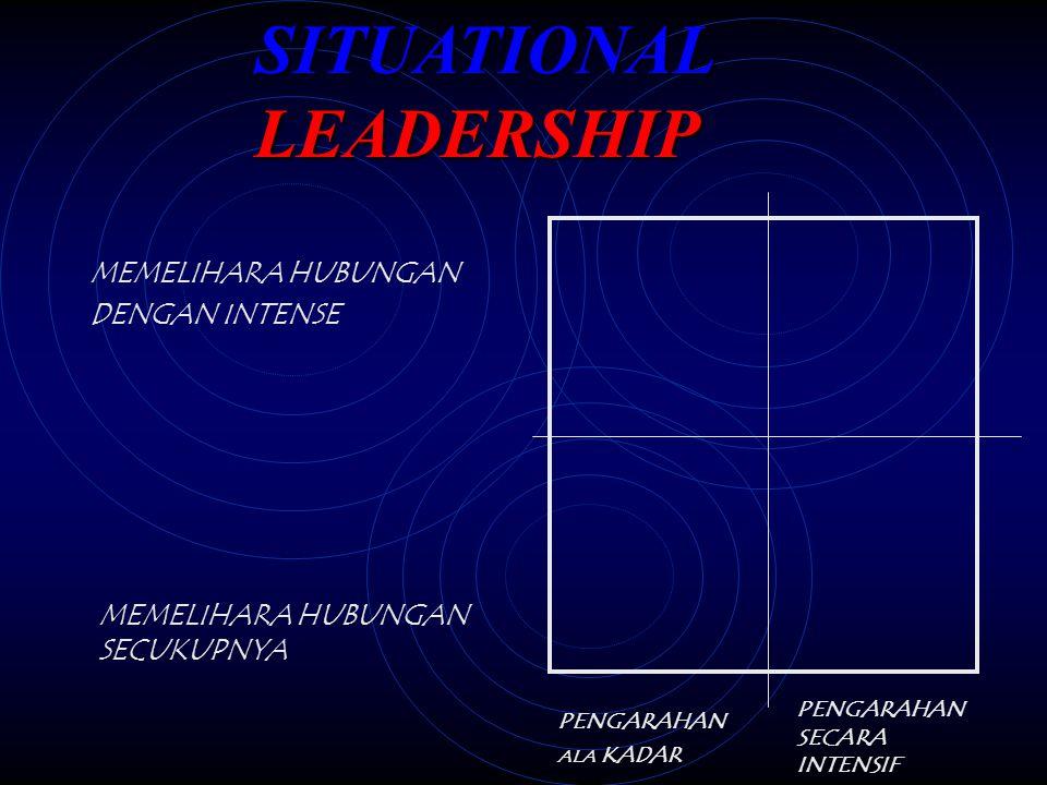 LOW RELATIONSHIP BUILDING HIGH TASK ORIENTATION LOW TASK ORIENTATION MATURE MATURING MATURING IMMATURE ABLE MOTIVATED HIGH RELATIONSHIP BUILDING