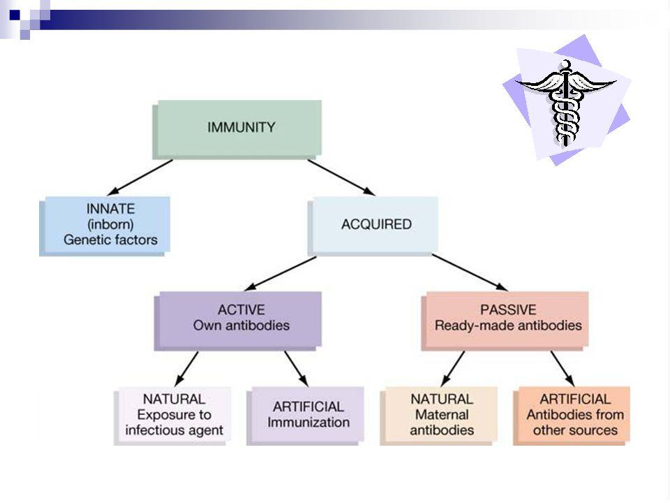 Kekebalan pasif adalah sistem kekebalan yang terbentuk karena antibodi berasal dari luar tubuhnya atau dari hospes lain Bersifat relatif sementara, karena antibodi yang dimasukkan ke dalam telah terbentuk, sehingga perlindungan pasif proses imun tergantung jumlah antibodi