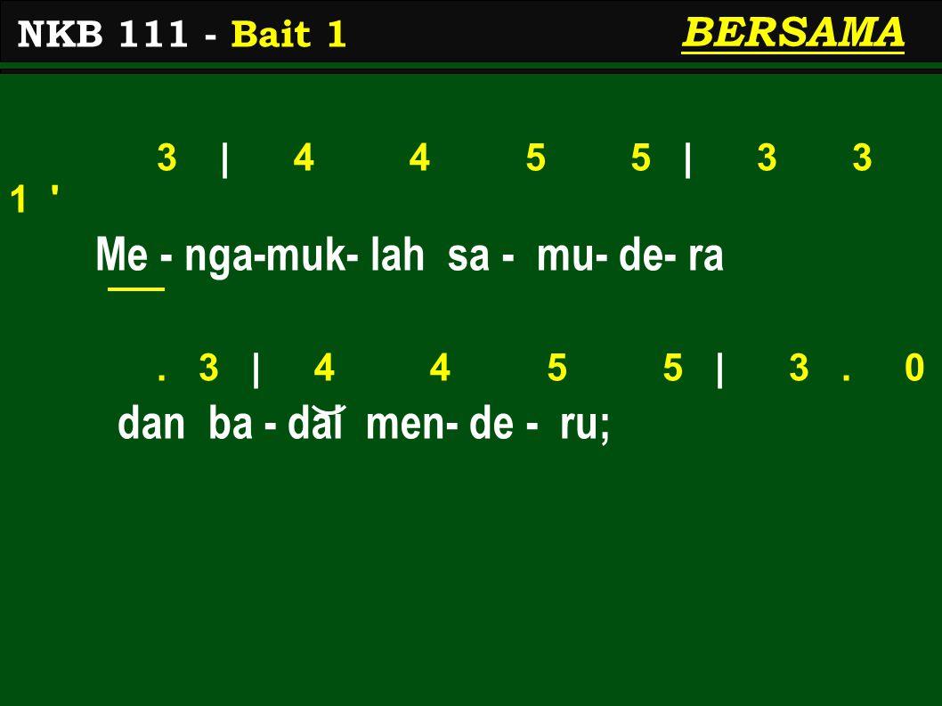 3   6 6 7 7   5 5 3 ge - lombang za-man menghempas,.