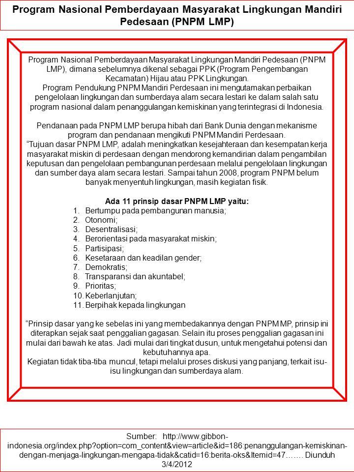 Sumber: http://www.gibbon- indonesia.org/index.php?option=com_content&view=article&id=186:penanggulangan-kemiskinan- dengan-menjaga-lingkungan-mengapa