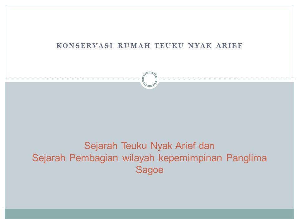 Biografi Teuku Nyak Arief T.Nyak Arief merupakan salah satu pejuang nasional yang mempunyai dedikasi tinggi terhadap perjuangan masyarakat Aceh dalam mempertahankan diri dari penjajahan Belanda.