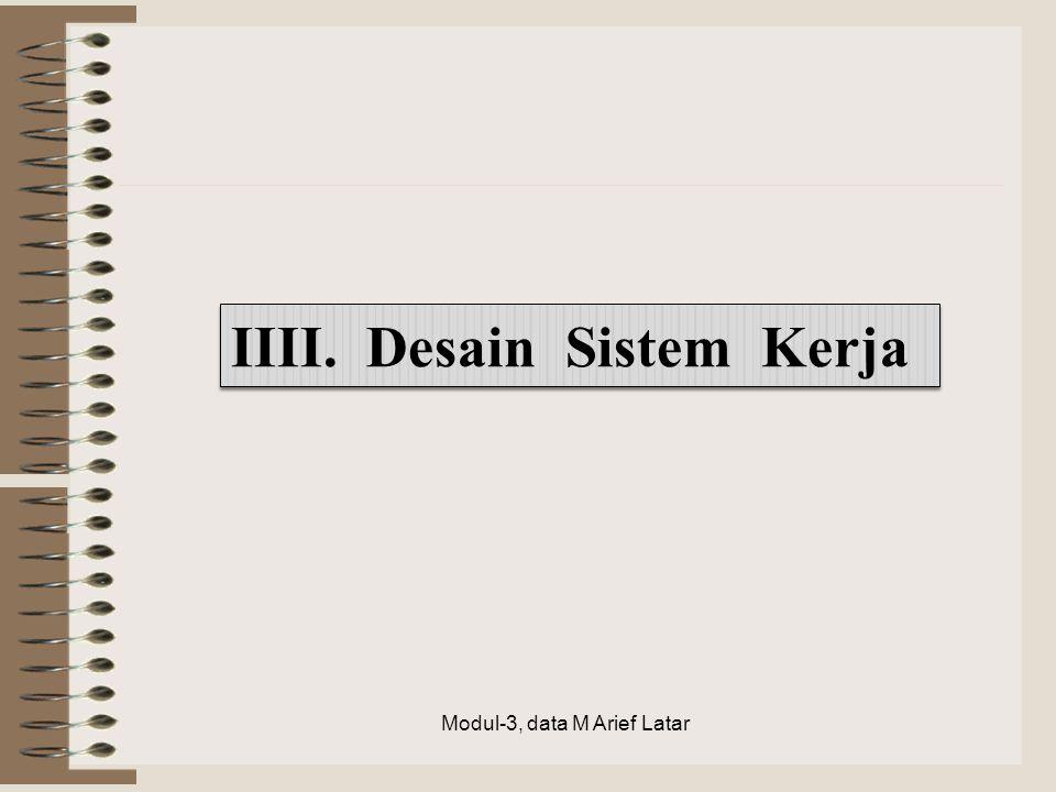IIII. Desain Sistem Kerja Modul-3, data M Arief Latar