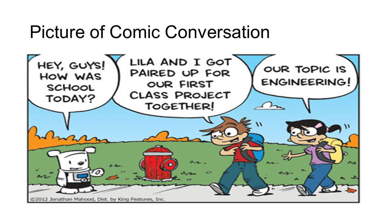 Picture of Comic Conversation