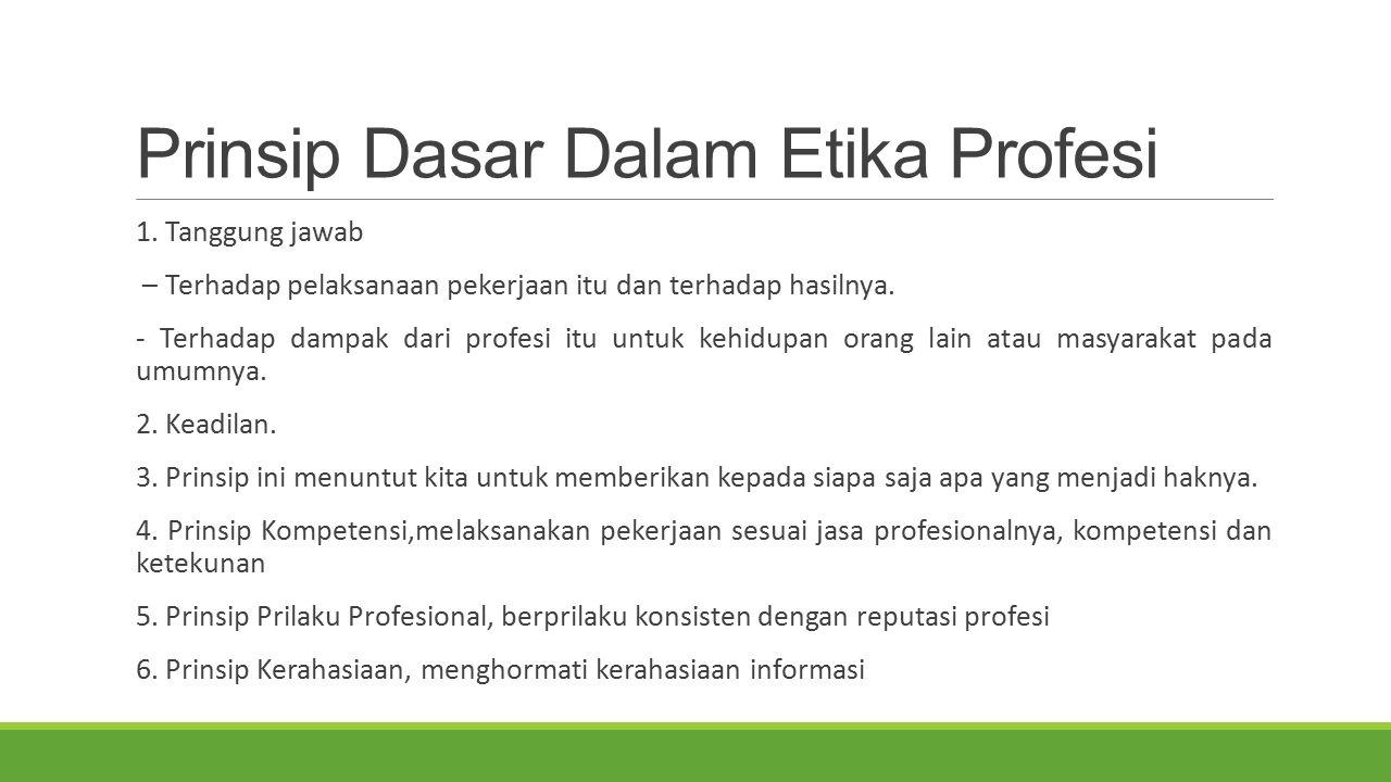 Pelanggaran Kode Etik Profesi IT Aspek-Aspek Tinjauan Pelanggaran Kode Etik Profesi IT : a.