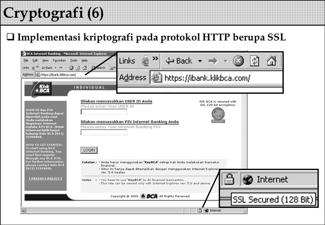  Implementasi kriptografi pada protokol HTTP berupa SSL Cryptografi (6)