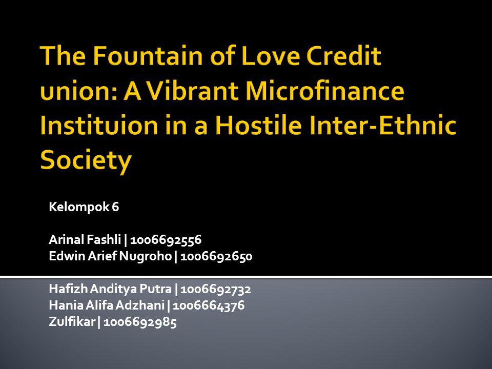  The Fountain of Love Credit Union Credit Union (FLCU) berdiri tanggal 28 Mei 1987 di Pontianak, Kalimantan Barat.