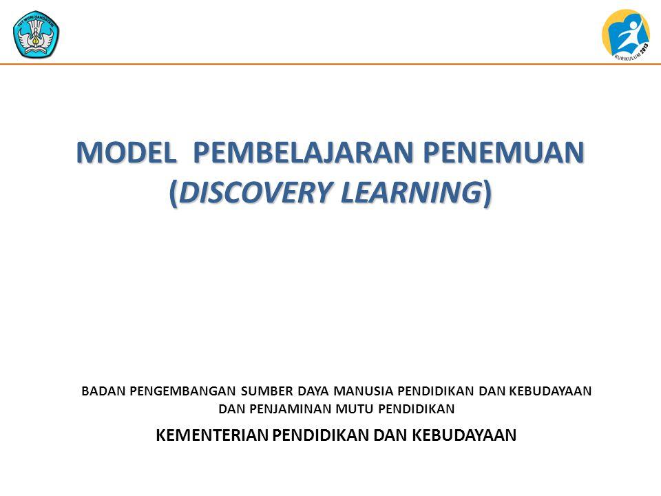  Metode Discovery Learning adalah teori belajar yang didefinisikan sebagai proses pembelajaran yang terjadi bila pelajar tidak disajikan dengan pelajaran dalam bentuk finalnya, tetapi diharapkan siswa mengorganisasi sendiri.
